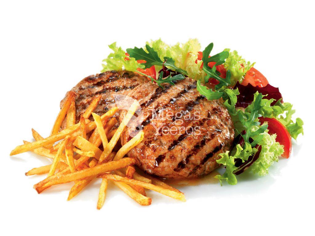 Traditional bifteki